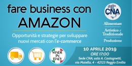 Fare business con Amazon sulla vetrina Made in Italy