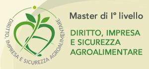 Master Diritto Impresa e Sicurezza Alimentare