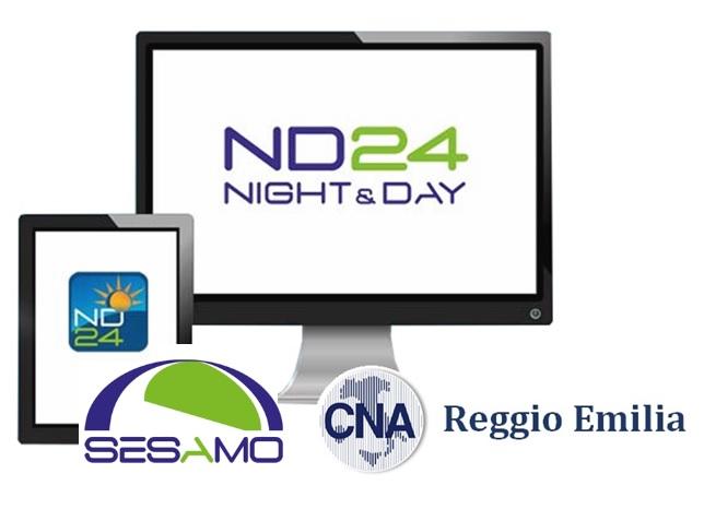 Sistema di rilevazione presenze ND24